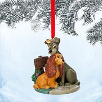 Lady and the Tramp Sketchbook Ornament