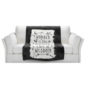 https://www.dianochedesigns.com/sherpa-pile-blankets-zara-martina-wonder-is-wisdom-black-white.html
