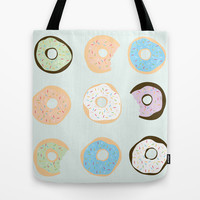 Donuts Tote Bag by Heather Clauson | Society6