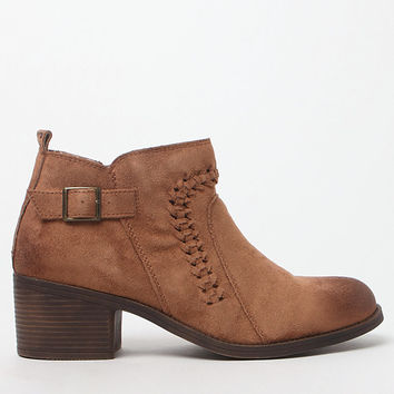 Billabong Take A Walk Faux Leather Ankle Boots at PacSun.com