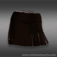 Bolle Kahlua Triple Pleat Skirt