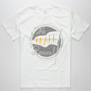 Roark Expeditionaries Mens T-Shirt White  In Sizes