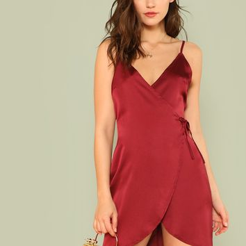 Knot Front Cami Night Dress