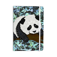 "Art Love Passion ""Panda"" Black White Everything Notebook"