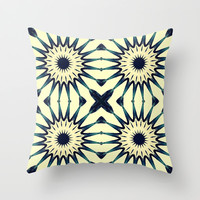 Subdued Flowers Throw Pillow by 2sweet4words