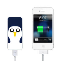 Gunter the Penguin Power Bank External Battery Charger for iPhone and Samsung Andriod