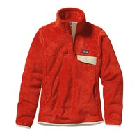 Patagonia Women's Re-Tool Snap-T® Fleece Pullover | Eclectic Orange - Red Delicious X-Dye