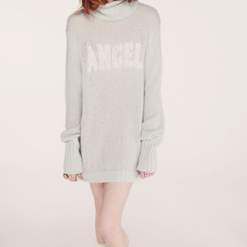 Wildfox White Label Angel Turtleneck Sweater