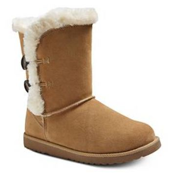Women's Kamar Shearling Style Boots - Mossimo Su... : Target