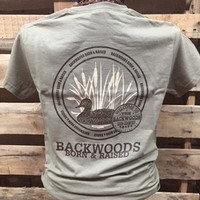 Backwoods Born & Raised Duck Unisex Bright T Shirt