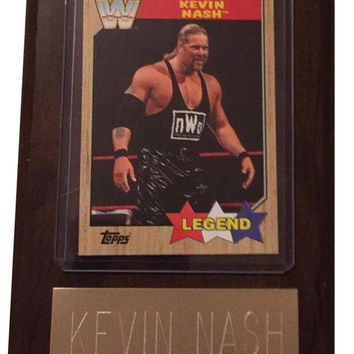 "Kevin Nash NWO 4"" x 6"" WWE Legend Wrestling Plaque"