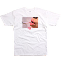 Hot Lips T-Shirt White