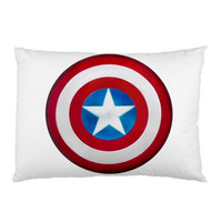"Captain America Shield AVENGERS Pillow Case Cover Bedding 30"" x 20"" New Funny Gift"