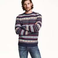 H&M Jacquard-knit Sweater $49.99
