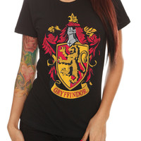 Harry Potter Gryffindor Crest Girls T-Shirt | Hot Topic