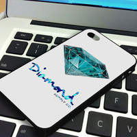 Diamond Supply Co Custome 7 iPhone 5 iPhone 4 / 4S Plastic Hard Case Soft Rubber Case