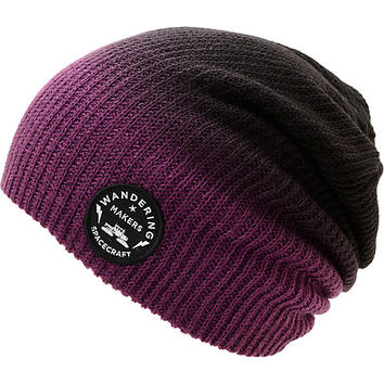 Spacecraft Faded Slouch Beanie