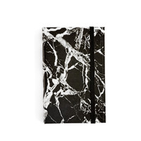 Black Marble Notebook Small