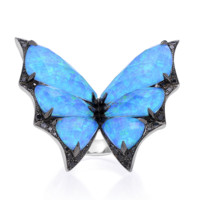 Fly by Night Batmoth Ring | Stone & Strand