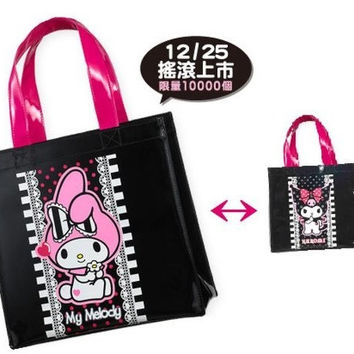 Sanrio Hi-Life Limited My Melody Kuromi Tote Bag