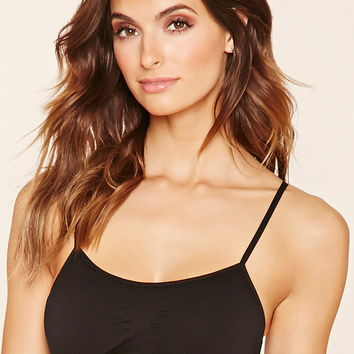 Ruched-Front Bralette