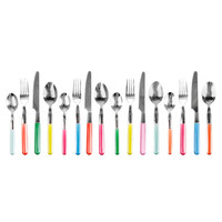 16-Pc. Summer Rainbow Silverware