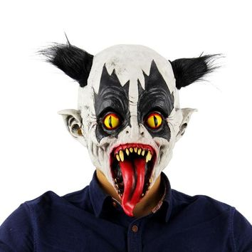Halloween Mask Scary Zombie Bats Horror Cosplay Mask Latex Clown Masquerade Party Costume masquerade mask 5 Styles