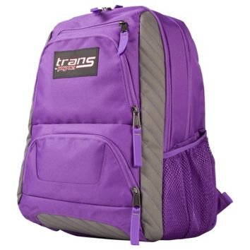 Trans By JanSport Creede Backpack - Purple/Gray