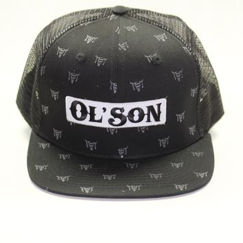Dale Brisby Rodeo Time Ol' Son Patch Skull Black Mesh