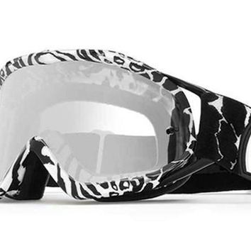 VonZipper - Bushwick XT Party Animals Black & White PAK Moto Goggles