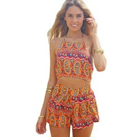 Jenni Tribal Two-Piece Romper