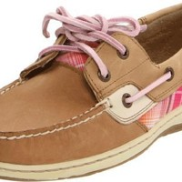 Sperry Top-Sider Women's bluefish 2 eye Slip-On,Beige,7 M US