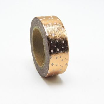 (1pc/Sell) Foil Washi Tape Set Japanese Stationery Scrapbooking Decorative Tapes Adhesive Tape Kawai  Adesiva Decorativa