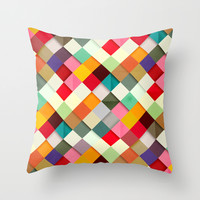 Pass this On Throw Pillow by Danny Ivan