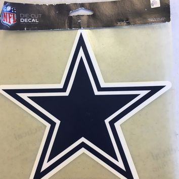 DALLAS COWBOYS COLOR CAR WINDOW DECAL GREAT HOLIDAY GIFT SHIPPING