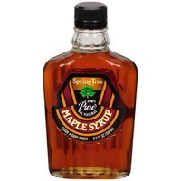 Kosher Spring Maple Syrup Grade a Maple Syrup Glass (12x8.5 Oz)in Bulk