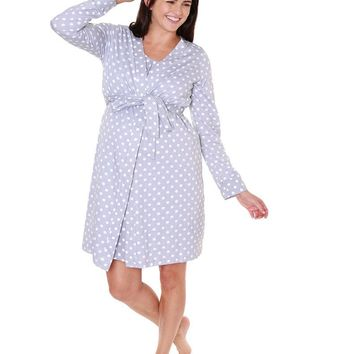 Lisa Maternity, Delivery, & Nursing Robe