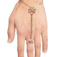 Marchesa Jeweled Hand Chain | Nordstrom