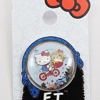 NEW Universal Studios Park Hello Kitty ET Collectible Pin - flying bike