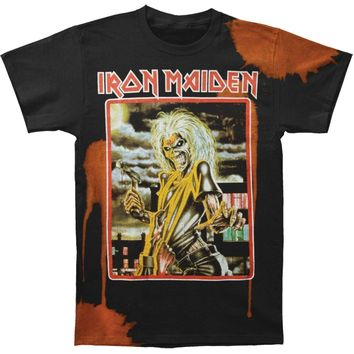 Iron Maiden Men's  Killers Square T-shirt Black