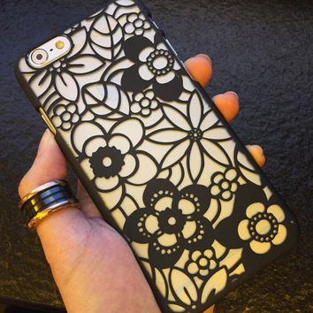 Hollow Out Sunflower iPhone 5s 6 6s Plus Case Gift-144-170928