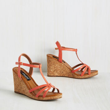 Matter of Stride Wedge | Mod Retro Vintage Heels | ModCloth.com