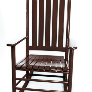 Dixie Seating Co. Asheville Wood Rocking Chair No. 907SRTA  - Ships within  2 to 4 Weeks
