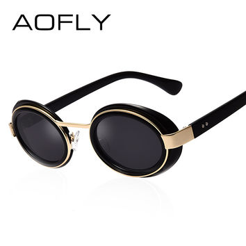 AOFLY Fashion Sunglasses Women Brand Designer Vintage Retro Eyewear Classic Men Shades Cute glasses Gafas De Sol feminino AF2265