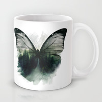 Double Butterfly Mug by Cafelab