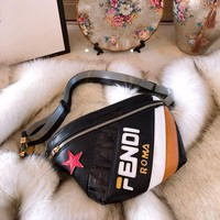 FENDI POUCH Multicolor Leather Belt bag