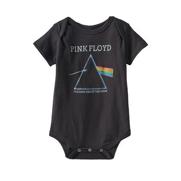 Pink Floyd ''The Dark Side of the Moon'' Bodysuit - Baby, Size: