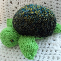 Knit Toy - Sea Turtle -Toddler Gift
