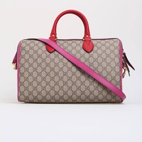 GUCCI GG Supreme top handle bag