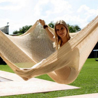 Jumbo Mayan Hammock in Natural Color